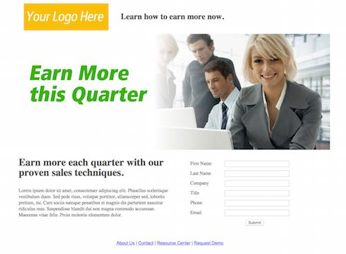 mortgage landing page templates