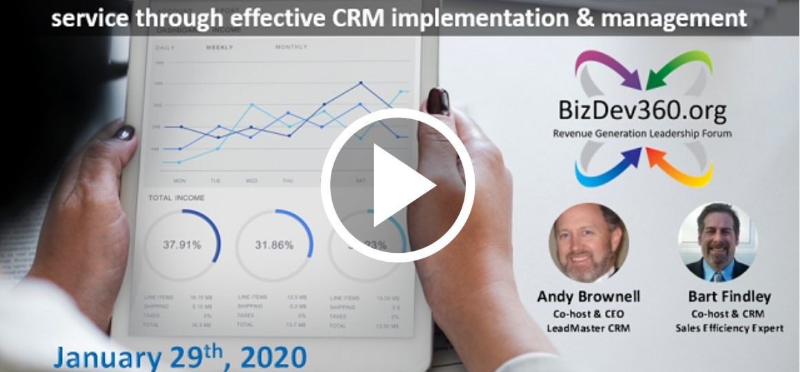 DRIVING SALES EFFICIENCY, REDUCING COSTS THROUGH EFFECTIVE CRM IMPLEMENTATION
